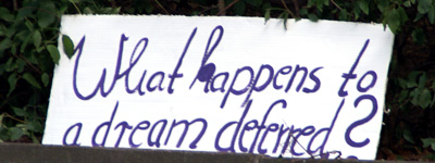 What heappens to a dream deferred?